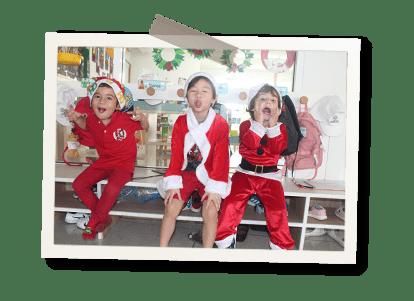 appletree santa claus christmas party