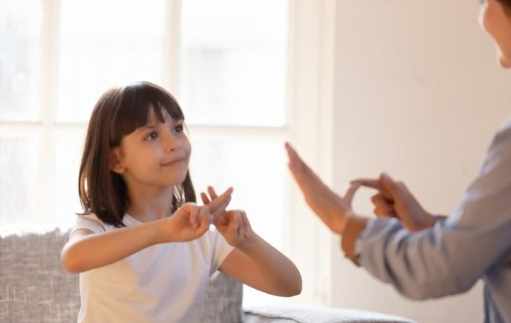 Child Body Sign Language